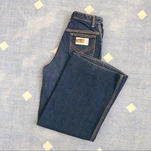 """Vintage 70's bell bottom wide denim jeans SF 25"""""""